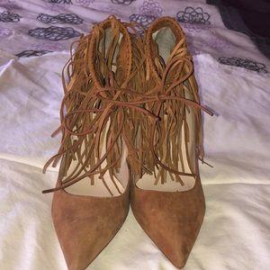 Zara fringed Heels